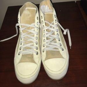Dries Van Noten Suede & Leather High-top Sneakers